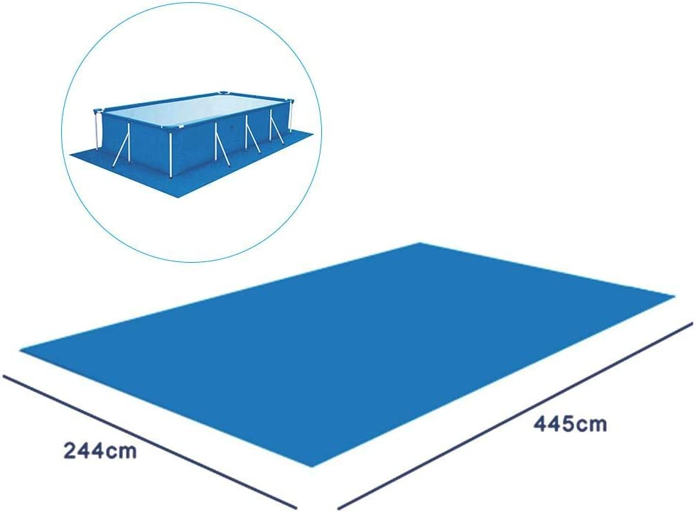 dewdropy Swimming Pool Cushion Pool Protection Mat Rectangular Pool Mat For The Above Ground Swimming Pool