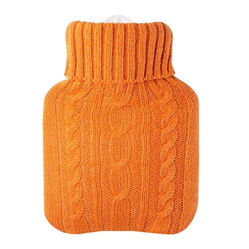 Hugo Frosch 0.6L Kids Hot Water Bottle with Cover Highest Quality - Made in Germany by Hugo Frosch