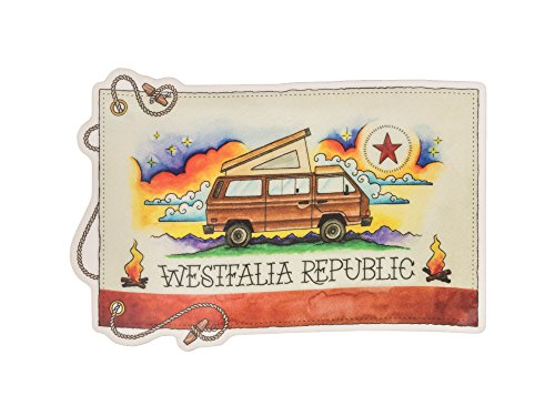 Vw Vanagon Camper - Westfalia Republic - Sticker / Decal