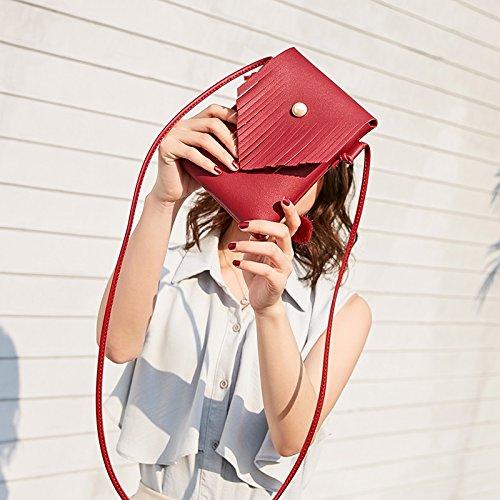 Cuero Mujeres Mochila De Bolso 2018 Verano Hombro Sencillo Totes Moda Mujer Simple Jiurui Pequeño Suave Y Nuevas Las Salvaje Red Fresco F8wSEUnq7x