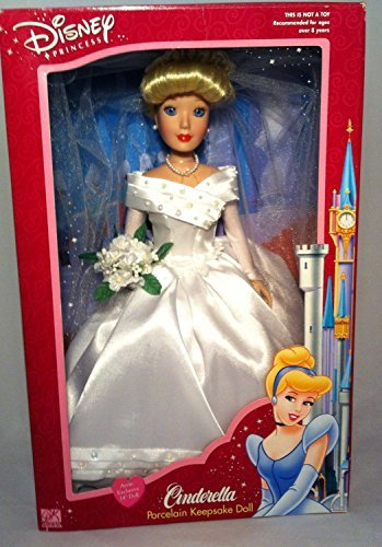 Disney Princess Cinderella Porcelain Keepsake Doll 2002 ()