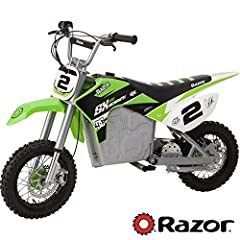 It's ShowTime! what do you get when you combine the winningest motocross rider in history and the Razor product making machine the all new Jeremy McGrath Sx500! with authentic MX frame geometry and faithful reproduction of Jeremy's big bike, ...