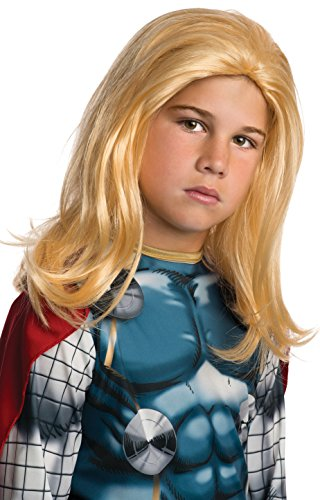 Rubie's Marvel Universe Classic Collection Avengers Assemble Child Size Thor Wig
