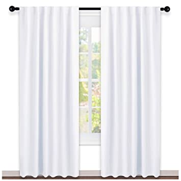 dining room window curtains old style windows nicetown dining room window curtains white color w52 l84 set of amazoncom