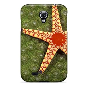 New Design Shatterproof SLpUiDS3478CnefM Case For Galaxy S4 (tuberous Pearl Starfish)
