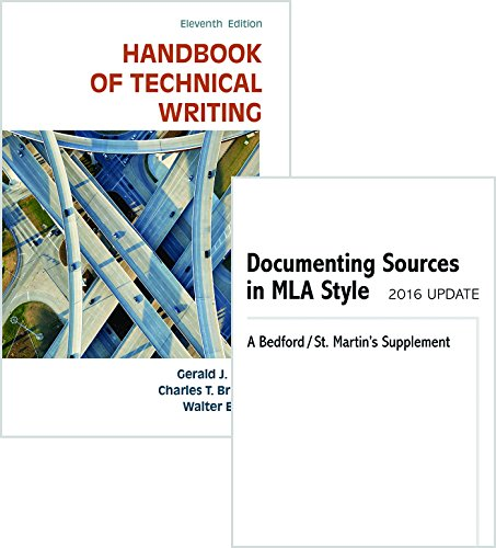Handbook Of Technical Writing 11th Edition Pdf