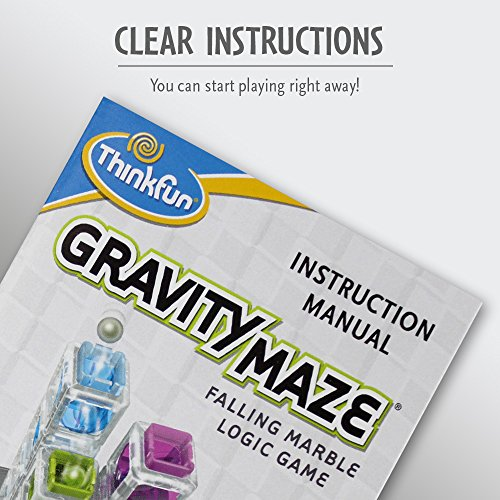 ThinkFun Gravity Maze Marble Run Logic Game and STEM Toy for Boys and Girls Age 8 and Up - Toy of the Year Award winner
