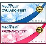 MediTesti™ Ovulation & Pregnancy Test - Includes 50...