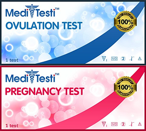 MediTesti™ Ovulation & Pregnancy Test - Includes 50 Ovulation Test Strips (LH Test) & 25 Early Pregnancy Test Strips (hCG Test) by MediTesti (Image #8)