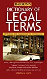 Barron's Dictionary of Legal Terms: Definitions and Explanations for Non-Lawyers!