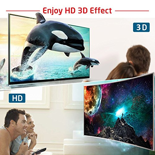 External Blu Ray DVD Drive 3D 4K,Bluray Player DVD CD Opitical Disc Burner for PC Windows Mac os by PIAEK (Image #2)