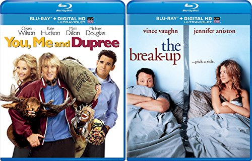 The Break-Up & You, Me and Dupree (Blu-ray) Romantic Comedy set