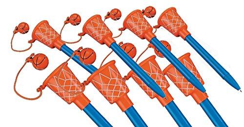 Fun Express Basketball Hoop Pens (24 Pack) ()