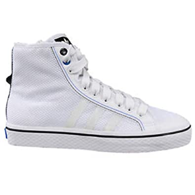 cheap for discount 819b7 e1e31 ADIDAS ORIGINALS NIZZA HI TF HI TOPS SHOES WHITE G40704 (9.5, WHITE)