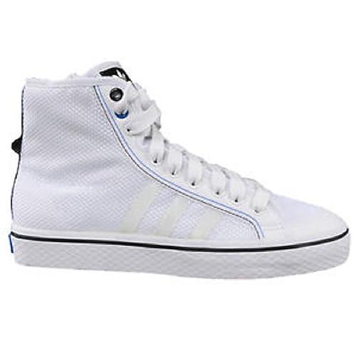 adidas Nizza, Herren Basketballschuhe weiß weiß, weiß weiß