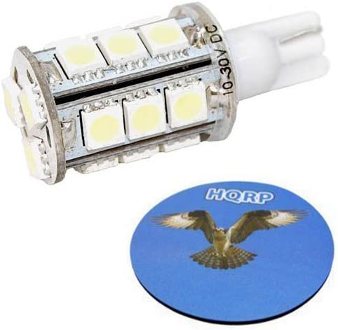 1x T10 Wedge Base LED Bulb Cool White 18 SMD5050 for Malibu Landscape light