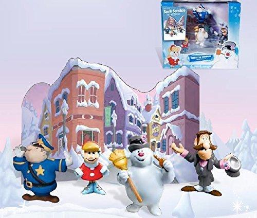 Frosty Snowman Figure - Frosty the Snowman Parade Figurine Display Figure Set