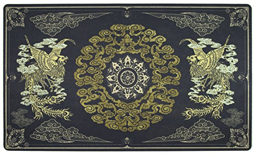 Inked Playmats Phoenix Umber Playmat Inked Gaming TCG Game Mat for Cards