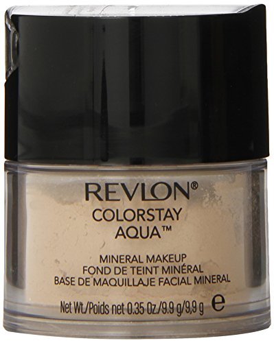 Mineral Powder Revlon - Revlon Color Stay Aqua Mineral Makeup, Light Medium, 0.35 Ounce