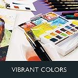 Derwent Inktense Watercolor Paint Set, Paint Pan