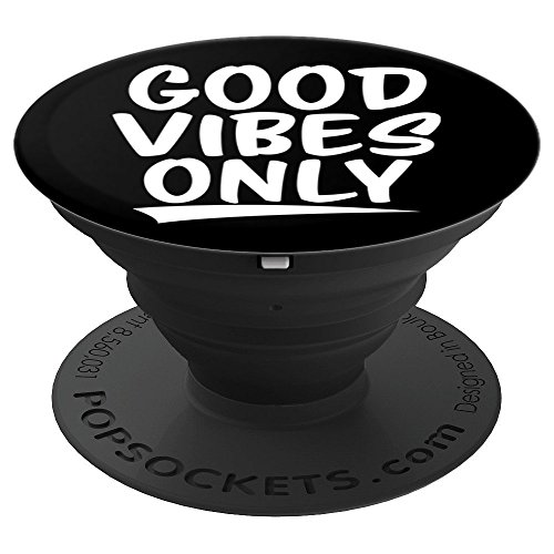 Good Vibes Only - PopSockets Grip and Stand for Phones and Tablets from CoolVibes