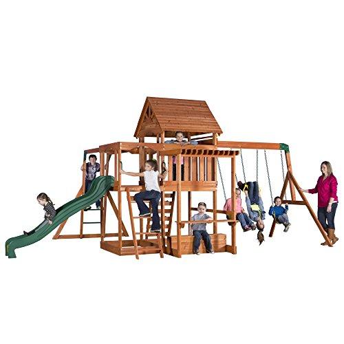Backyard Discovery Monticello Cedar Playset