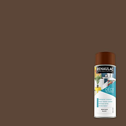 Renaulac Peinture Aerosol Deco Multi Supports Marron Brun Cacao 400 Ml Ref C Reaerdecb 0006 0l4 Amazon Fr Bricolage