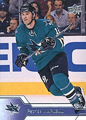 Hockey NHL 2016-17 Upper Deck #406 Patrick Marleau Sharks