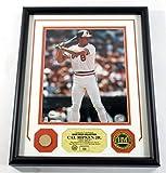 Cal Ripken Framed Display Game Used Bat Photo Coin Highland Mint DF025189 - MLB Game Used Bats