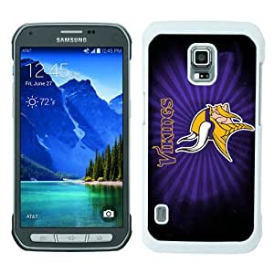 WOSN Minnesota Vikings 23 White Case Cover for Samsung Galaxy S5 Active