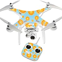 MightySkins Protective Vinyl Skin Decal for DJI Phantom 3 Standard Quadcopter Drone wrap cover sticker skins Orange Slices