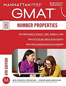 GMAT Number Properties (Manhattan Prep GMAT Strategy Guides Book 5)