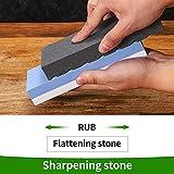 Angerstone Dual Grit Coarse/Fine Flattening Stone