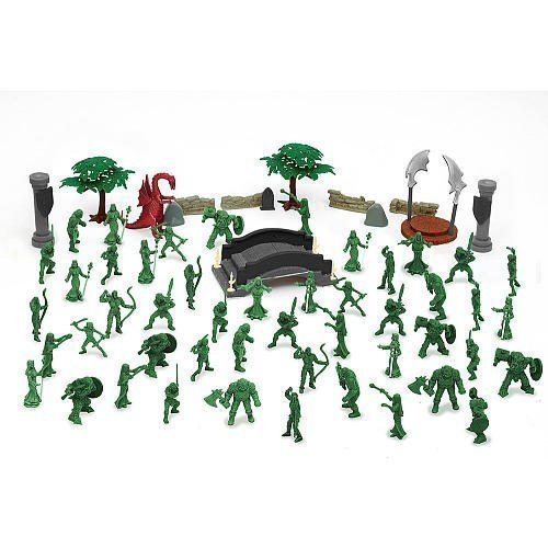 True Heroes Mythical Warriors Bucket by Toys R Us