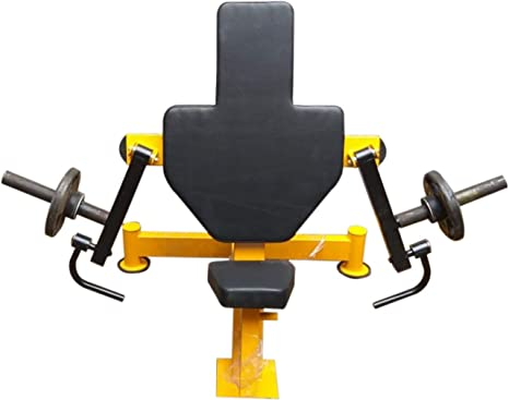 Buy 7 hills steel multi exercise single station home gym yellow