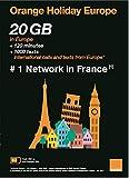 OLO Frog-Orange Holiday Europe – Prepaid SIM Card – 20GB Internet Data in