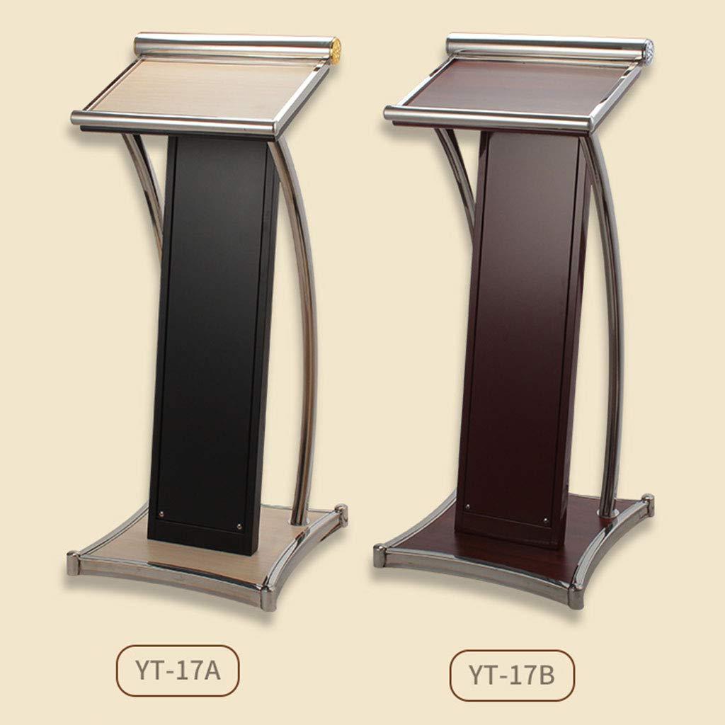 Amazon.com: Hermsi podio de presentación de madera moderna ...