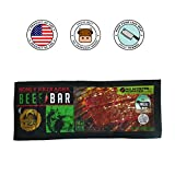 Golden Nest Beef Jerky Bar, Gluten Free, Healthy Meat From Gourmet USA, Non-GMO Honey Glazed (1.5 oz.) - Pack of 12 (Honey Sriracha)