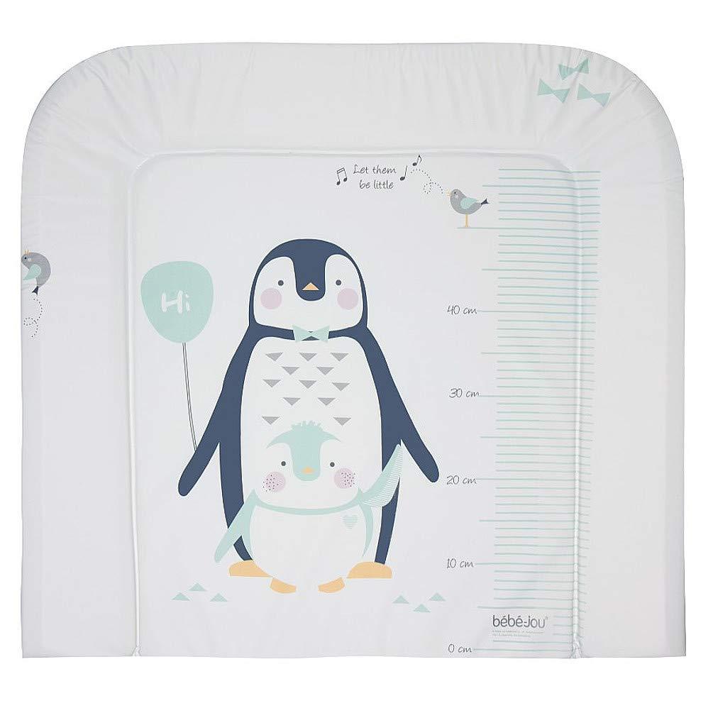 wei/ß b/éb/é-jou 6802117 Wickelauflage 3K Pinguin Lou-Lou