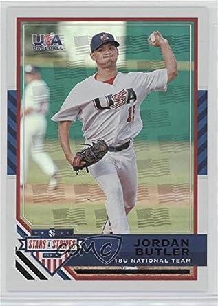 Amazoncom Jordan Butler 55 Baseball Card 2017 Panini Usa