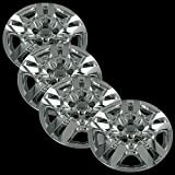 """Chrome 16"""" Bolt on Hub Cap Wheel Covers for Nissan Altima - Set of 4"""