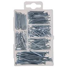 The Hillman Group 591520 Small Wire Nail and Brad Assortment, 260-Pack