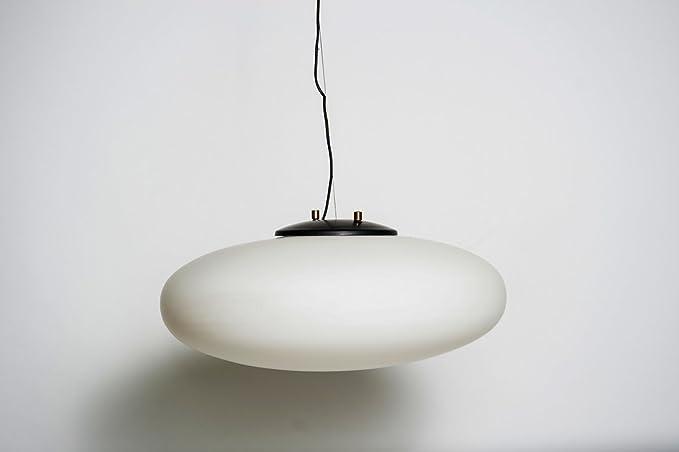 Lámpara fabricante Stilnovo - Italia años 50 colores blanco ...
