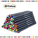 Fineliner Pens Bullet Journal Markers Fine Tip Pen for Writing Drawing Office School, Fine Point Colored Planner Pens (60 Colors)