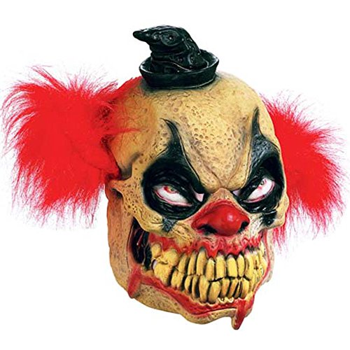 Paper Magic Men's Don Post Studios Bludie The Clown Mask, Multi-Colored, One Size -