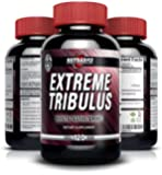 Pure Bulgarian Tribulus Terrestris Supplement, 95% Steroidal Saponins - 80% Protodioscin, Top Rated, Max Strength, Highest Potency On The Market, Increases Libido, Sex Drive & Stamina, Promotes Natural Testosterone Production - 1320mg