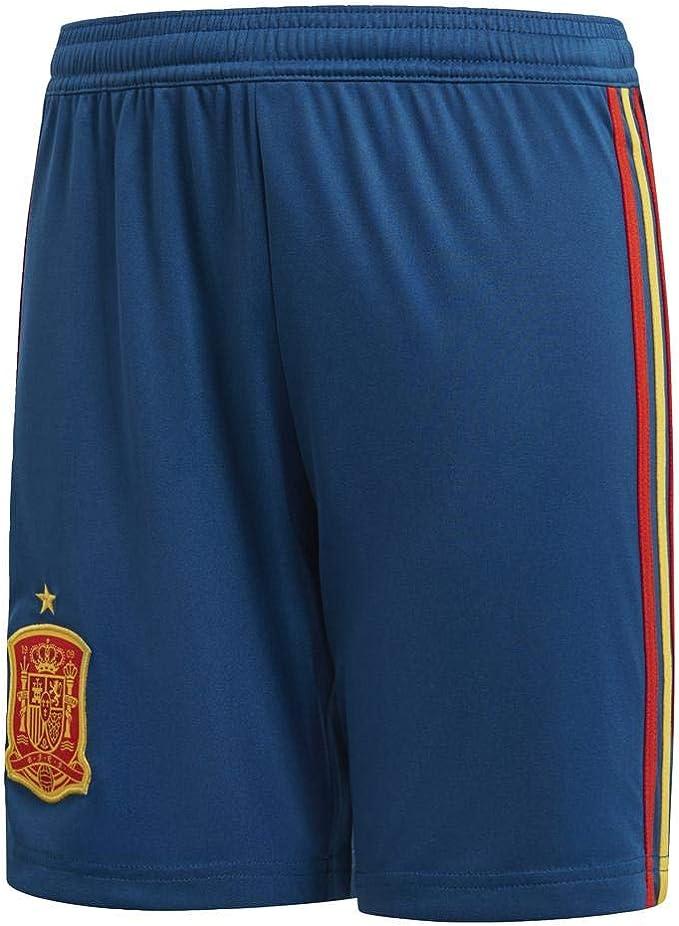 adidas Línea Federación Española de Fútbol - Pantalones Cortos Niños: Amazon.es: Ropa y accesorios