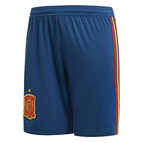 : adidas 2018 2019 Spain Home Football Shorts