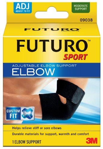 Futuro Sport Adjustable Elbow Support, Adjustable (Pack of 2)