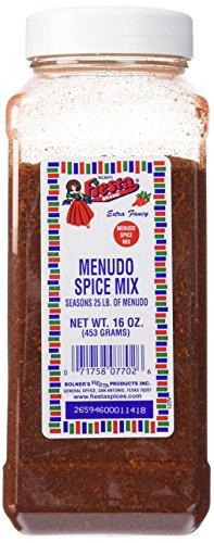 Bolner's Fiesta Extra Fancy Menudo Spice Mix, 16 Oz. by Bolner's Fiesta Brand